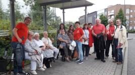 Die SPD Waltrop auf dem Weg nach Recklinghausen zu Sigmar Gabriel