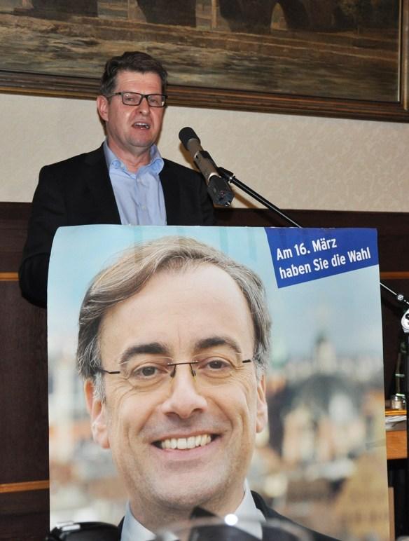 Dr. Ralf Stegner, stellvertretender Vorsitzender der SPD