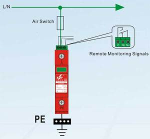 Surge Protective Device,AC SPD,220V surge protection, 110V