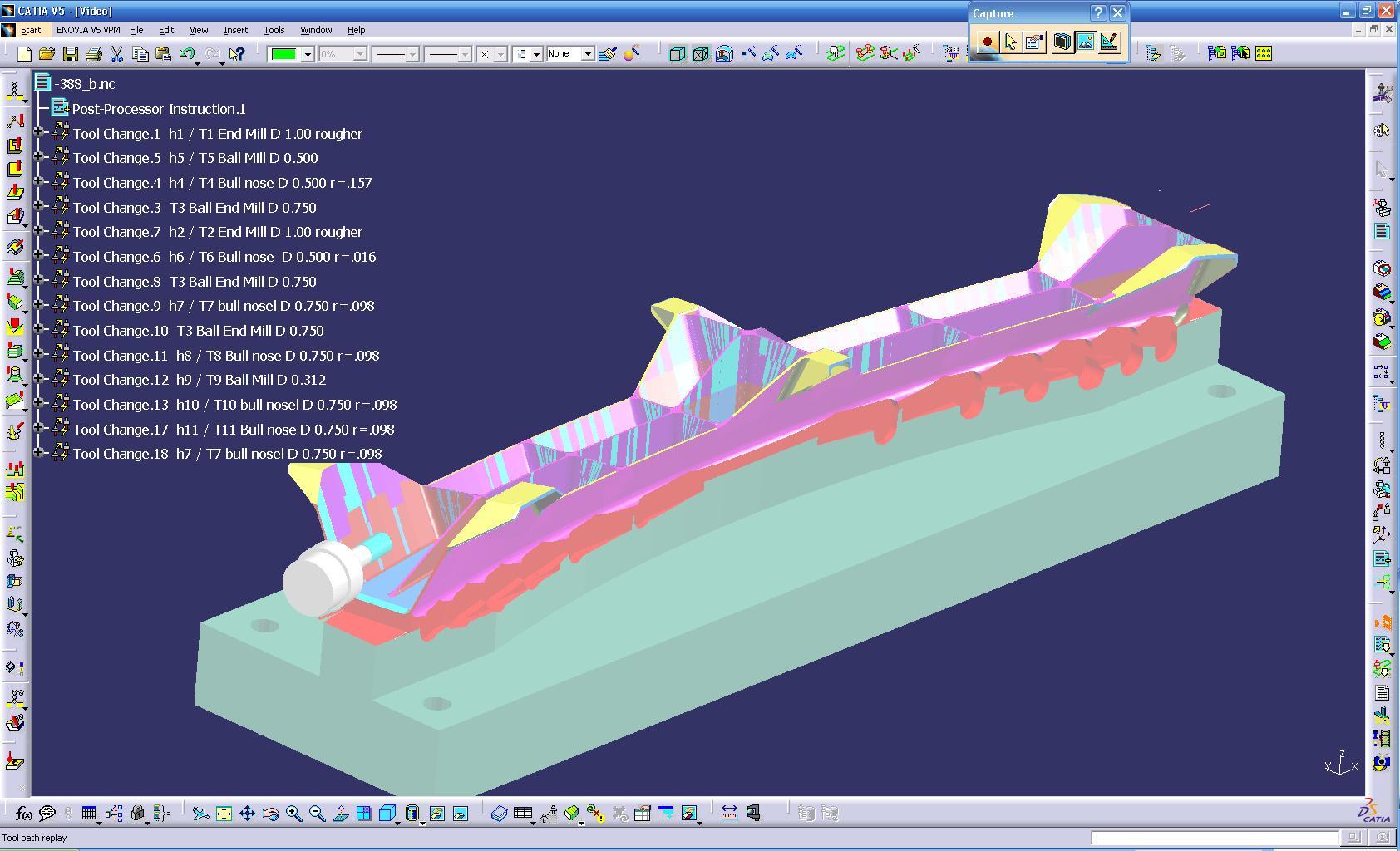 Cnc Catia V5 V6 Programmer 5axis Aerospace Catia Cnc