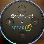 cedarhurst senior living technology featuring Alexa