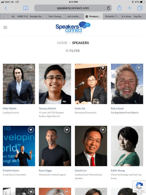 Welcome To Asia Speakers Bureau