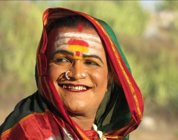 4. Manjamma Jogati, the only trans woman to win the Padma Shri award in 2021. SpeakIn