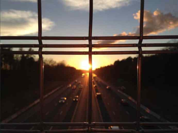 Highway at Dawn