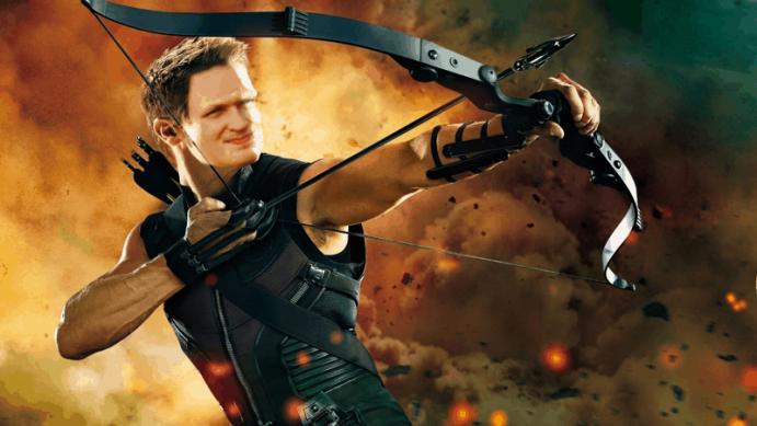Patrick as Hawkeye