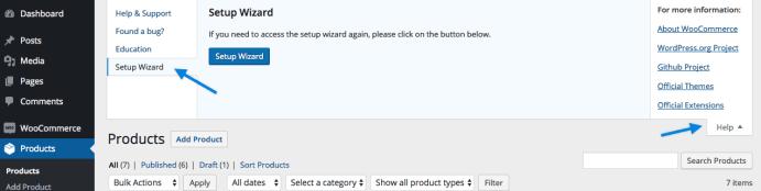 Help Setup Wizard