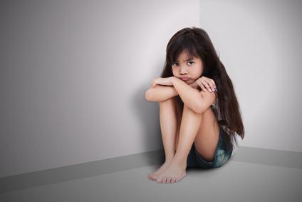 Sad girl suicide
