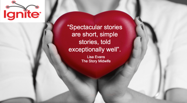 Spectacular Storytelling Ignite style The Story Midwife