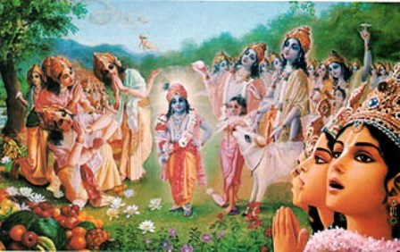 """Krishna is always there for you"""