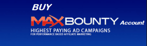 Approved Maxbounty CPA Publisher Account For Sale