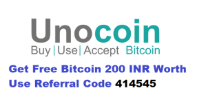 Unocoin Referral Code 414545