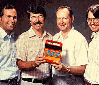 Hey fellas, don't hog that Speak & Spell!