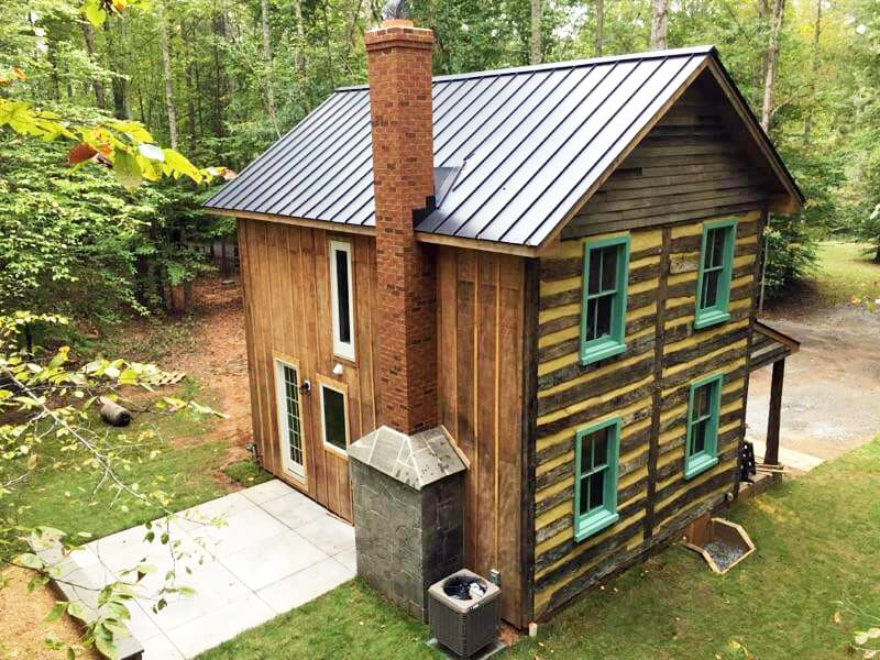 Vintage Log Cabin For Sale In Charlottesville Virginia