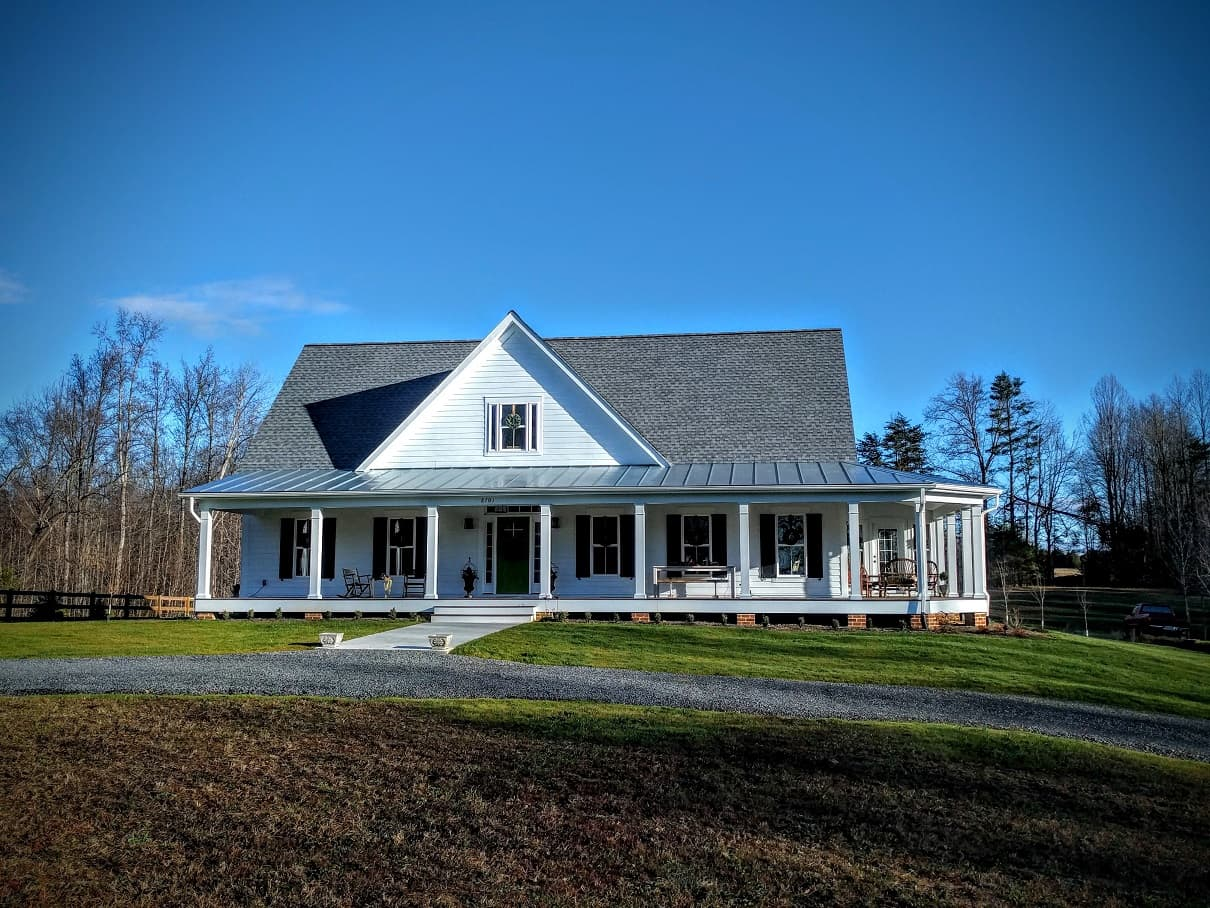 Custom built home in Spotsylvania Virginia
