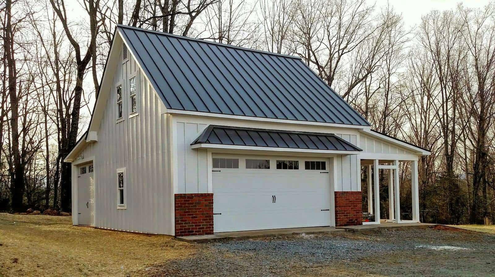Pole Barn Metal Roof