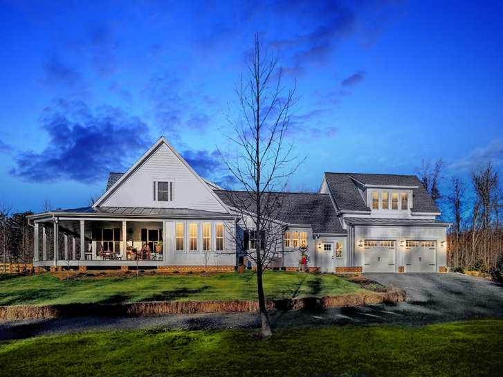 Custom built home by Spear Builders of Virginia