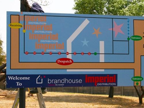 Brandhouse Chromadek Signboard