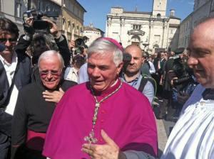Il nuovo vescovo di Ascoli Piceno, Mons. Giovanni D'Ercole