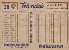La vecchia schedina - sito statistichelilla.it