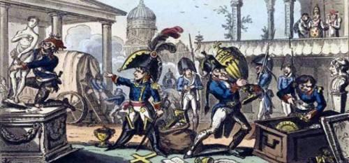 Napoléon le voleur - sito studinapoleonici.altervista.org, attraverso profilo fb Loreto Storica
