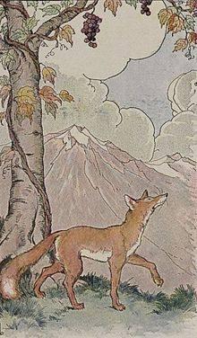 disprezzà - La volpe e l'uva - sito wikipedia