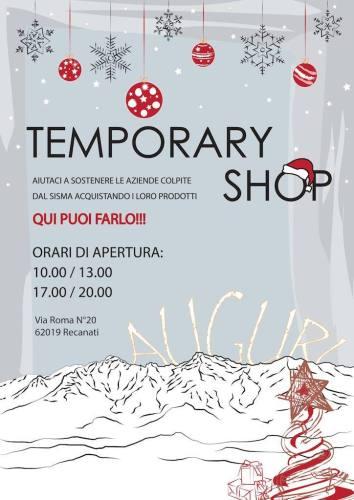 temporary shop