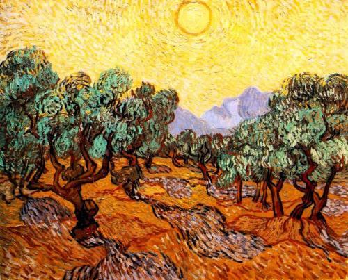 1-Ulivi-con-cielo-giallo-e-sole-Van-Gogh-analisi
