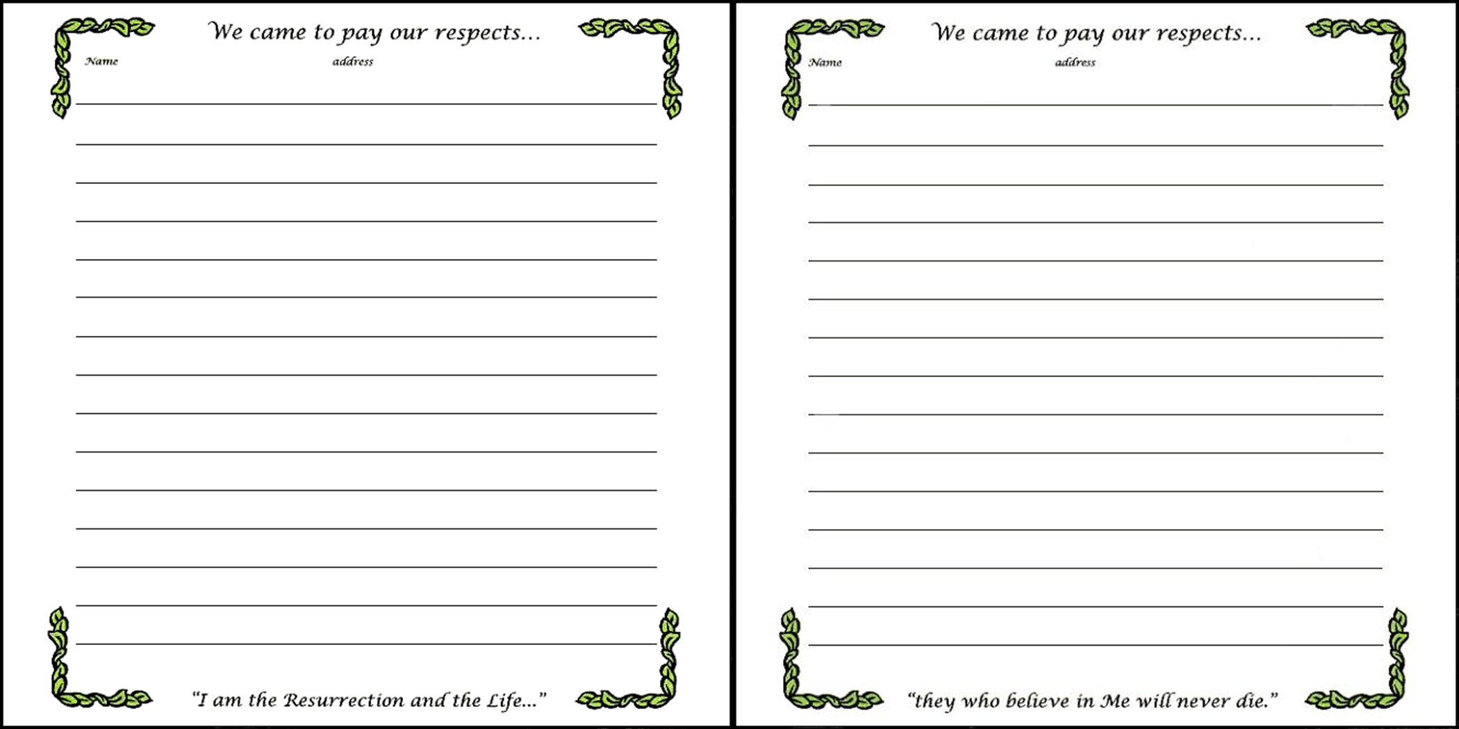 Doc569769 Guest Register Template Printable Sign In Sheet – Guest Book Template