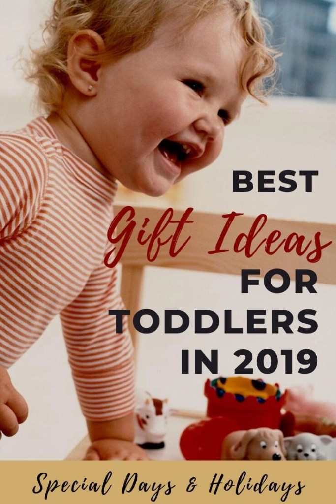 best toddler gifts pin of laughing baby on chair