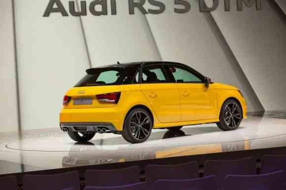 L'Audi S1 Sportback fait son show à Genève