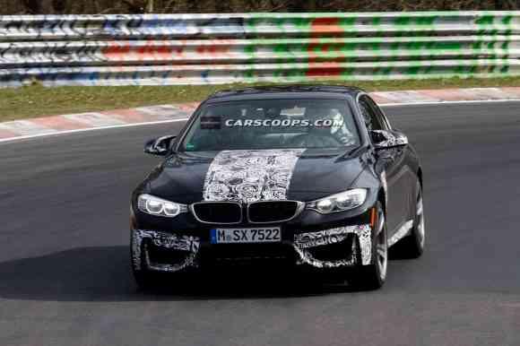 Peu de changements sont à noter sur cette BMW M4 Cabriolet par rapport au Coupé