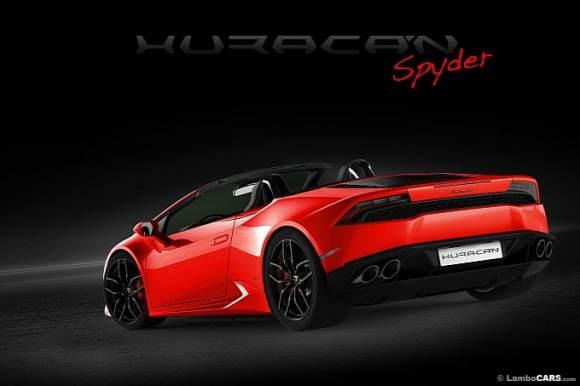 La Lamborghini Huracan Spyder se prépare ...