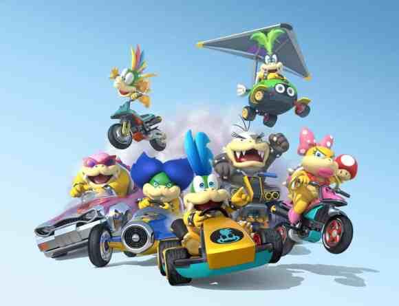 Mario Kart 8 et les Koopa