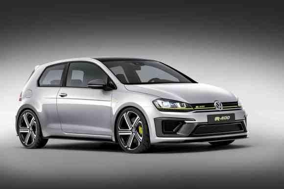 La VW Golf R 400 Concept tout simplement !