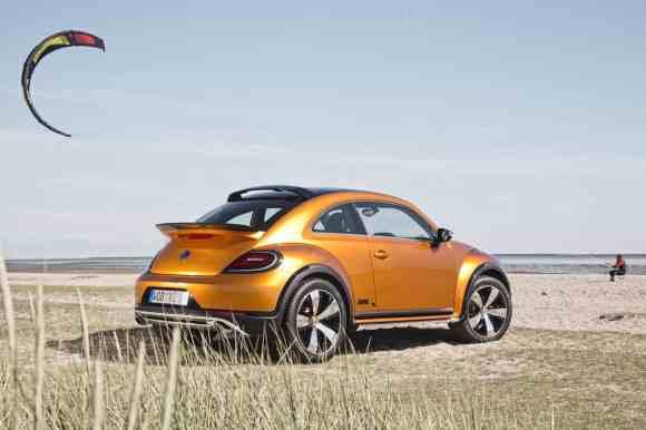 La New Beetle Dune étonne par son look d'aventurière
