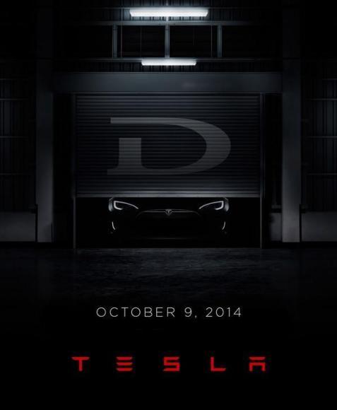 Le Model D, un nouveau membre de la famille Tesla !