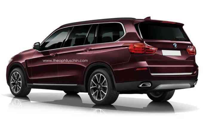 Selon Chin, le BMW X7 reprendra le coffre du Serie 2 Grand Tourer