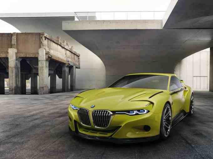 BMW a vu grand au niveau de la calandre de cette 3.0 CSL Hommage