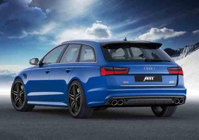 ABT lâche tout pour cette préparation de l'Audi S6 Avant, 550 chevaux (10 de moins qu'une RS6 Avant)