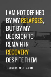 relapses- Recovering from Addiction: How to Survive