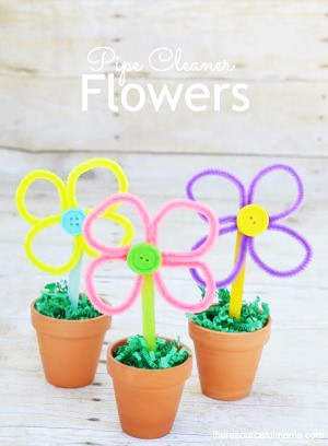 Pipe cleaner flowers (2)