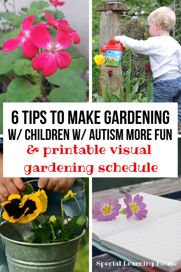6 Tips to Make Gardening with Children with Autism more fun