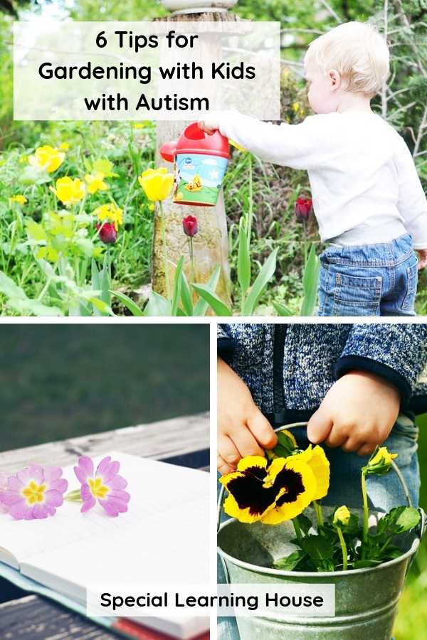 6 tips for gardening with kids with autism