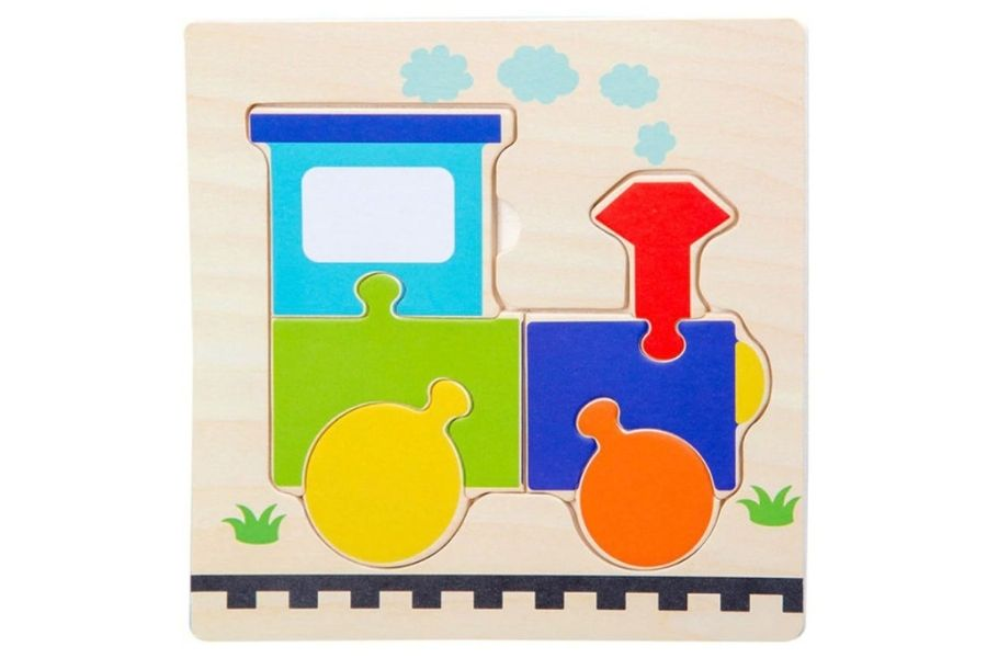 Puzzles for Autism - Trains transportation cars puzzles (wooden)