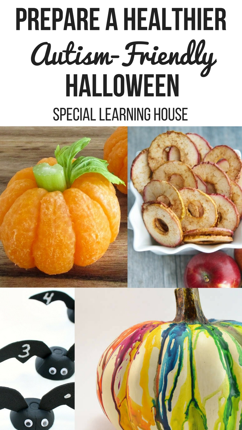 Prepare a Healthier Autism-Friendly Halloween. | speciallearninghouse.com