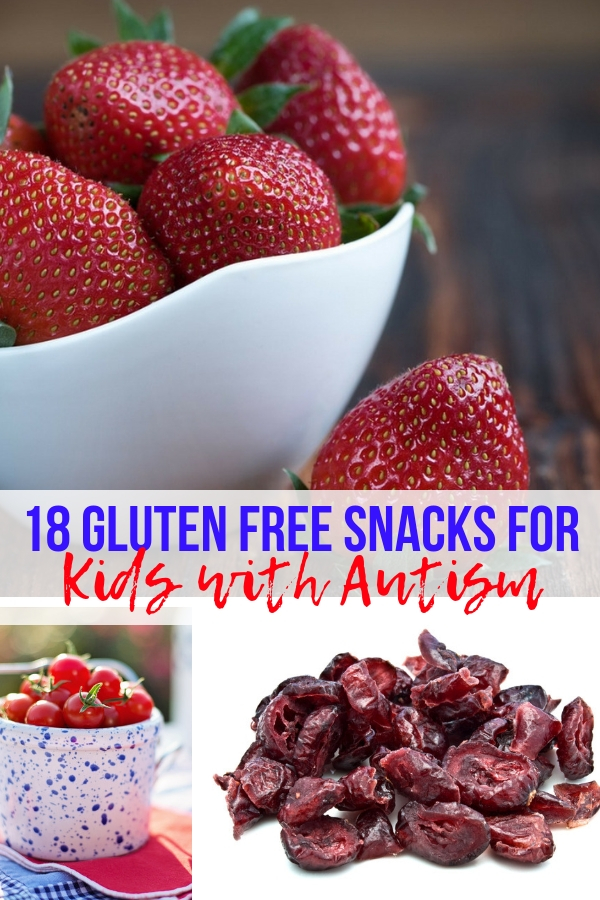 18 Gluten Free Snacks for Kids with Autism