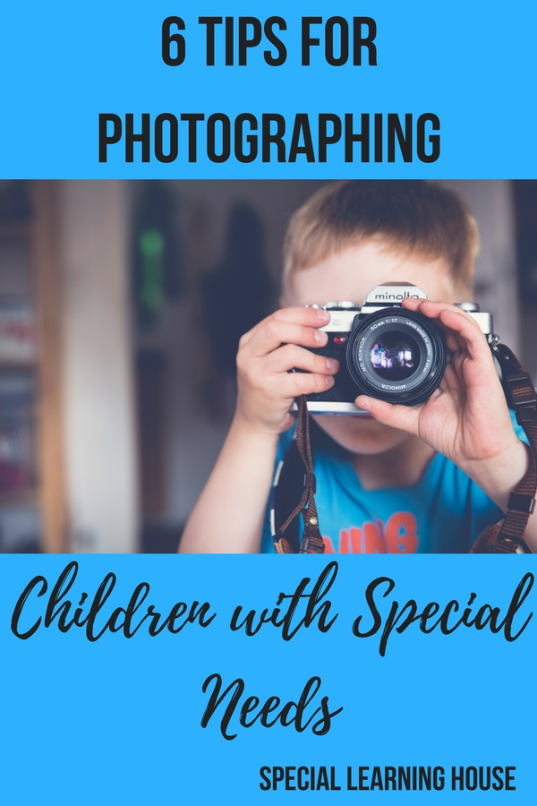 6 Tips for Photographing Children with Special Needs #autism #autismmom #spd #adhd