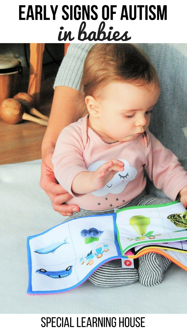 Early signs of autism in babies #autism #autismawareness #specialneeds #spd #sensoryprocessing - speciallearninghouse.com