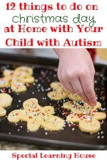 12 Fun Things to do on Christmas Day at Home as an Autism Family