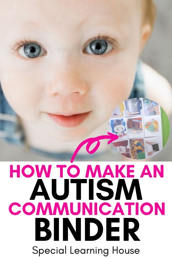How to Make a Communication Binder for Kids with Autism